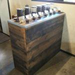 【家具オーダーメイド】コーヒー屋さんのカウンターを作成しました